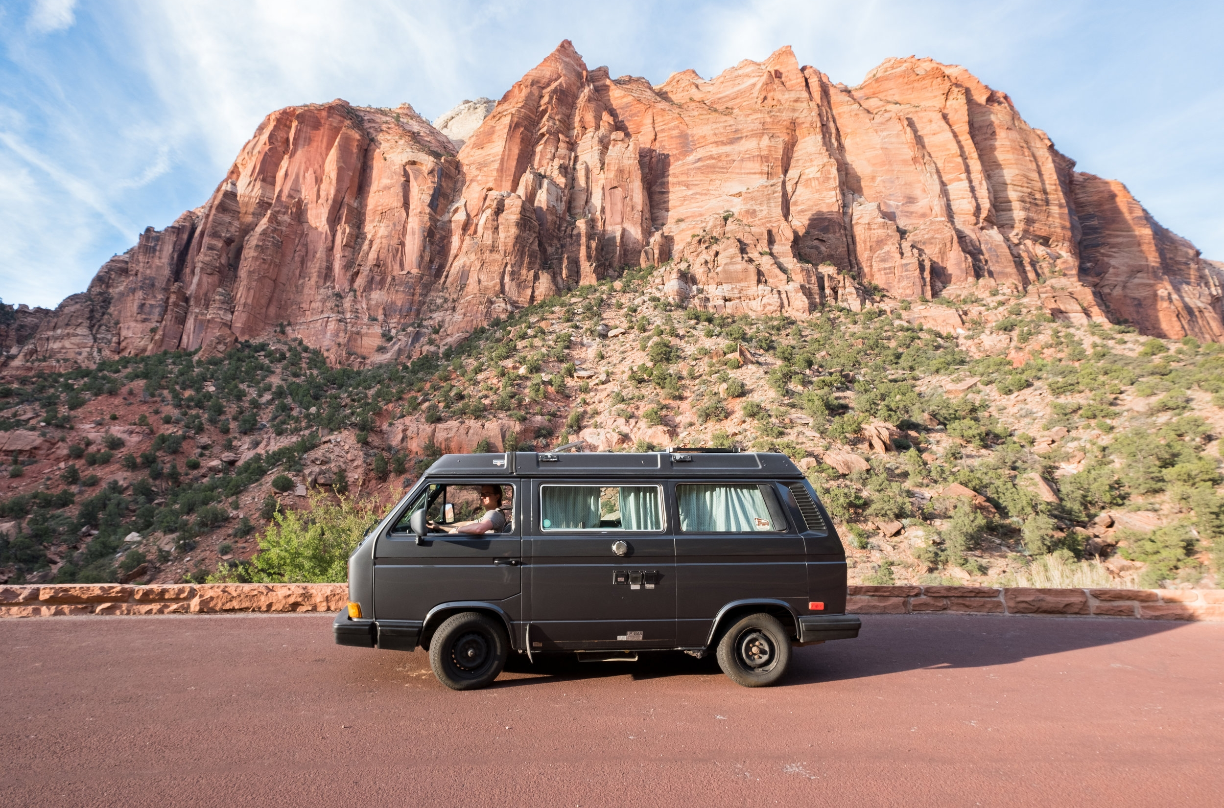 vanlife vw vanagon zion