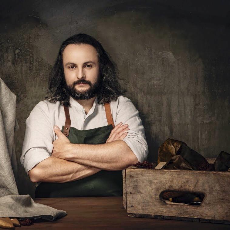 Chef Henry Fischer by Robyn Von Swank, 2018.