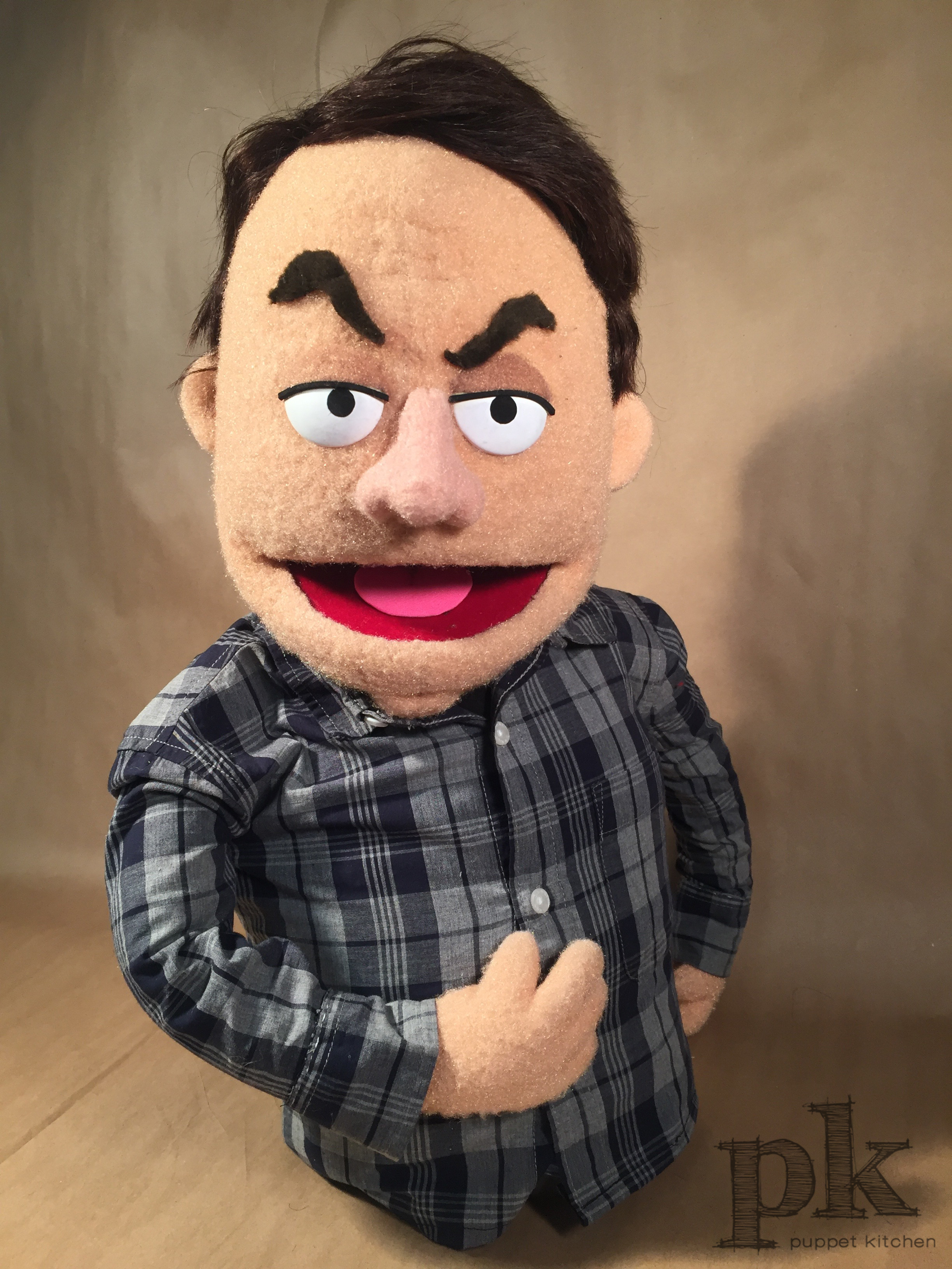 "Broadway Video: ""Bill Hader"" Portrait Puppet"