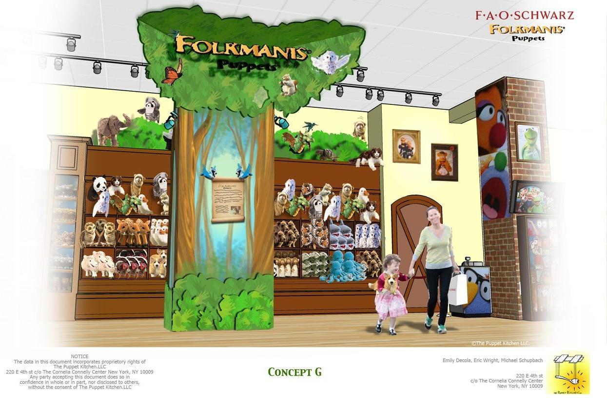 Folkmanis Store Installation: Art Direction