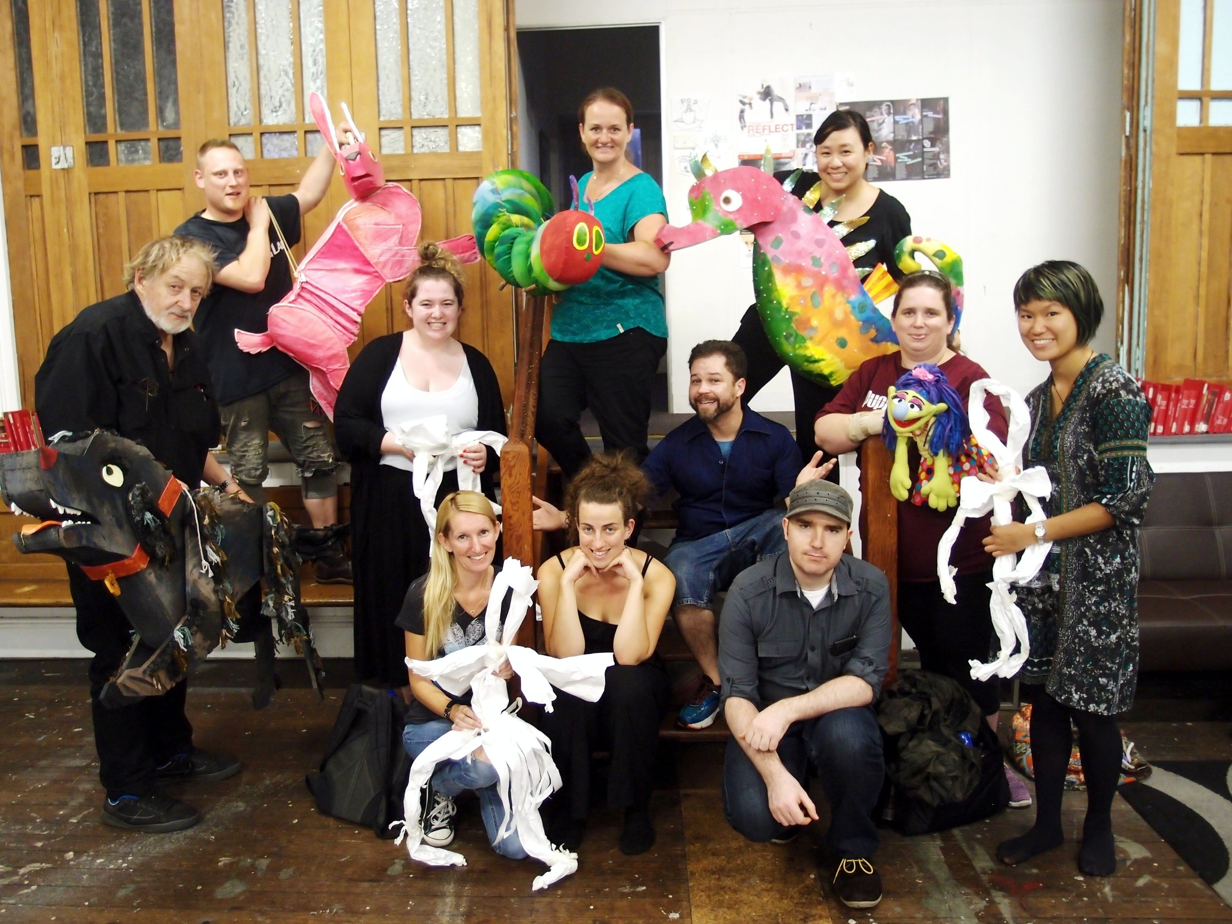 Puppet Kitchen Traveling Workshops (Sidney)