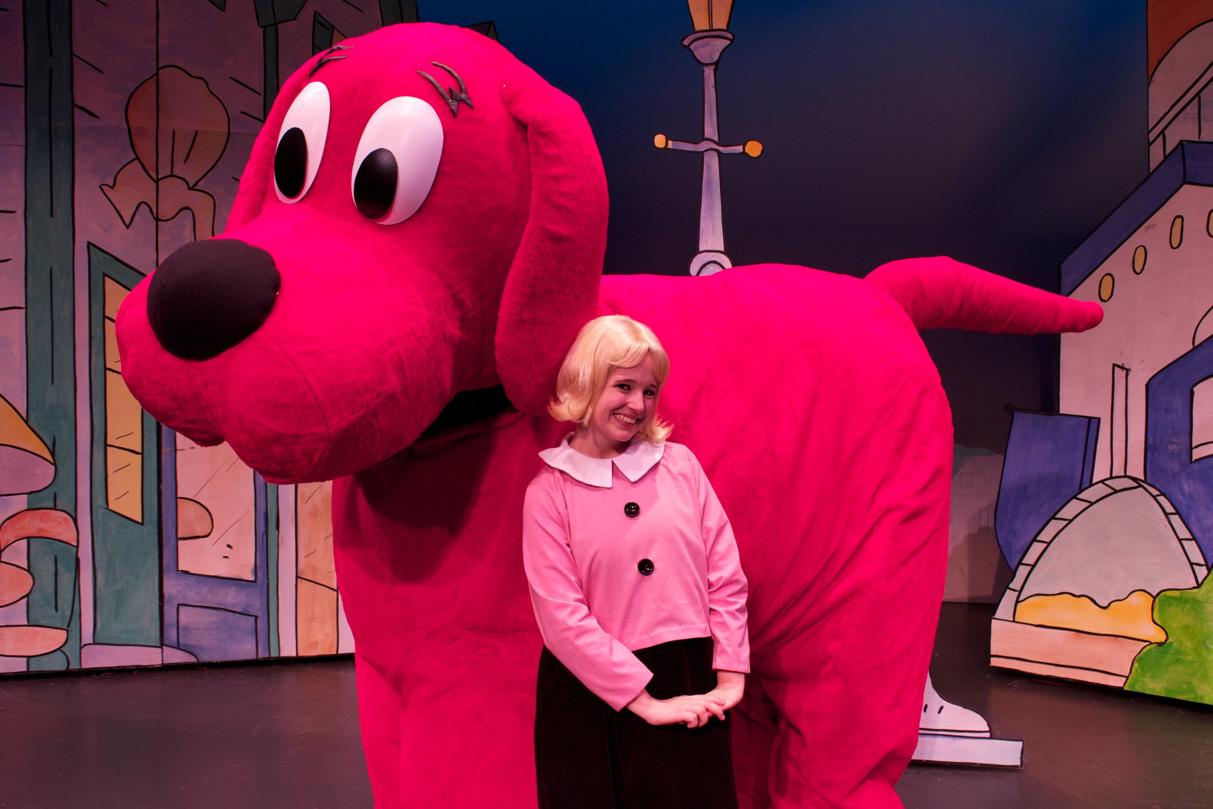 Scholastic/Mills Entertainment: Clifford the Big Red Dog National Tour