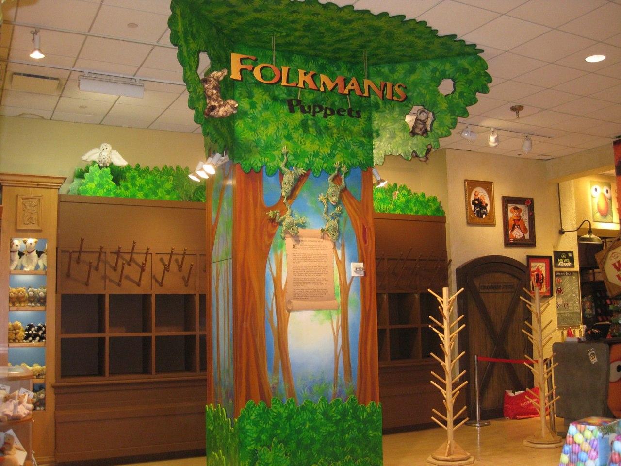 FAO Schwarz/Folkmanis Store Installation