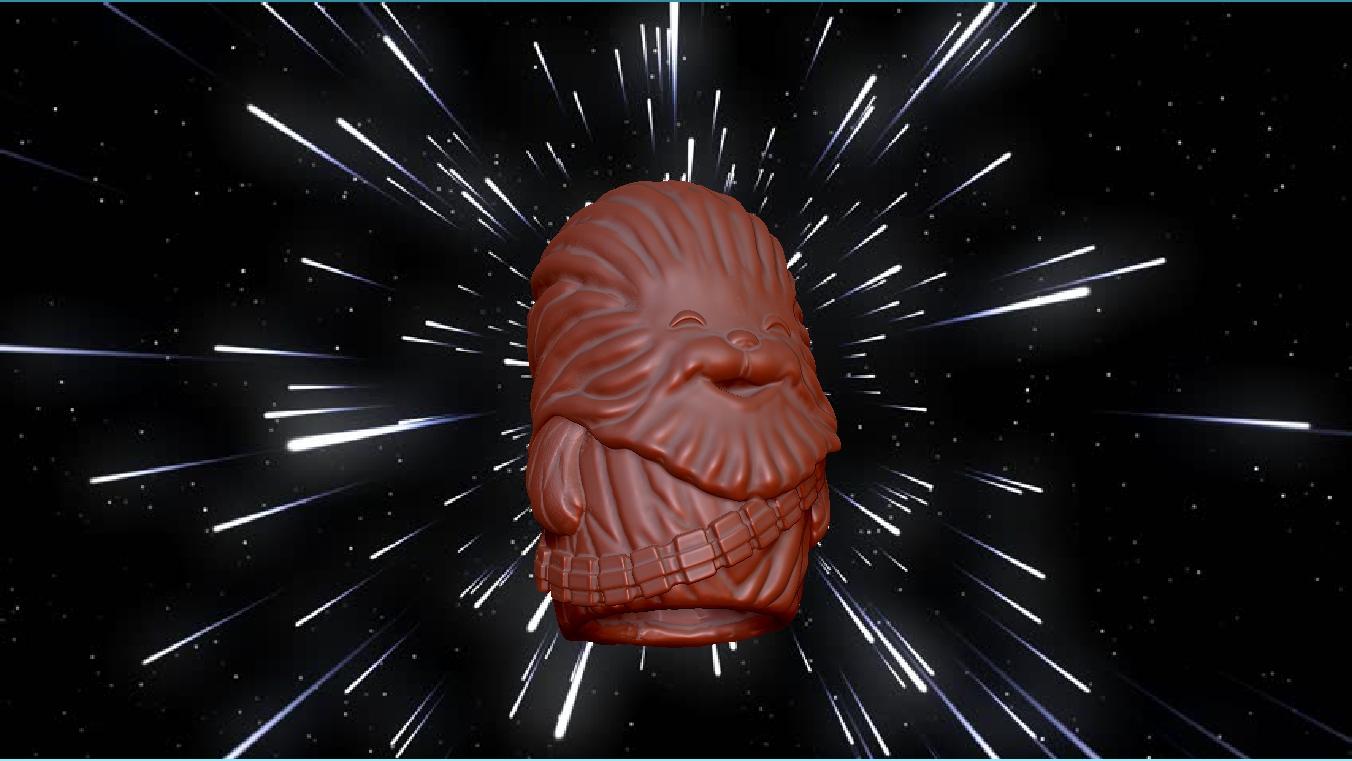 Wookie Finger Puppet Sculpt