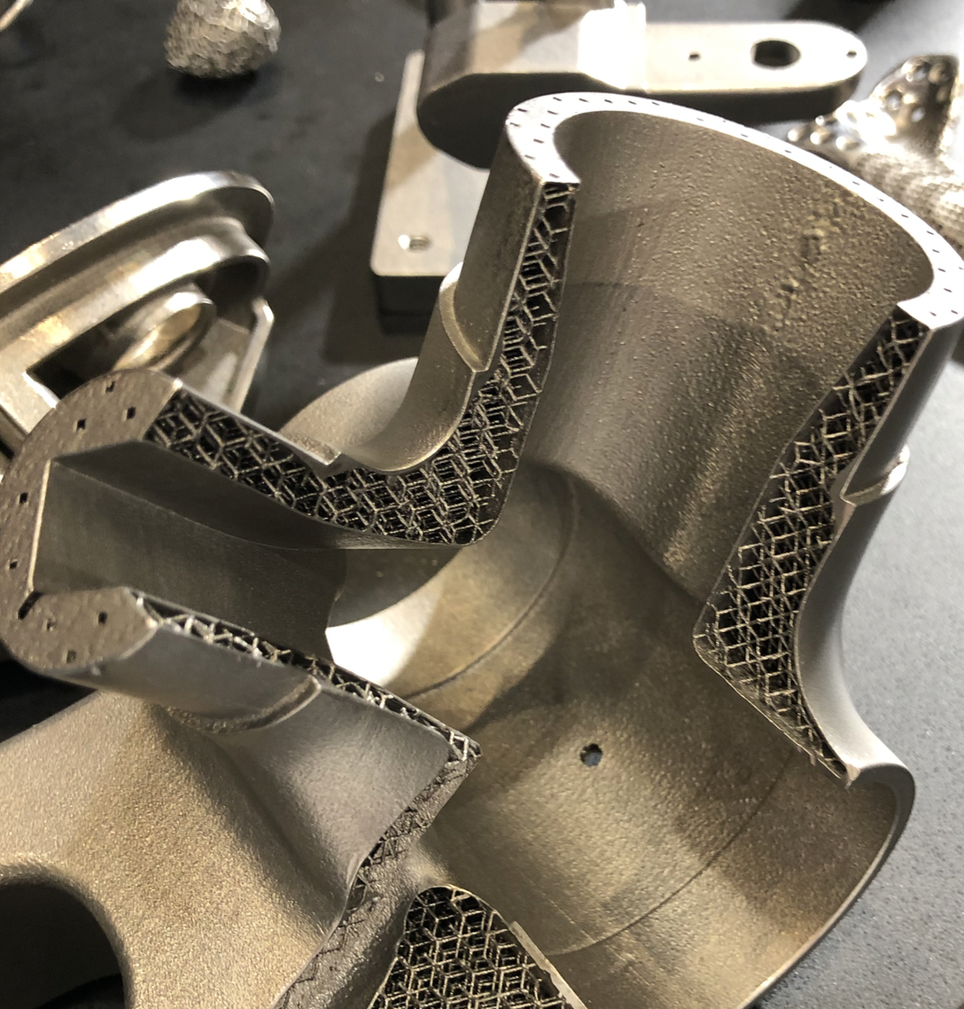 NZ's RAM (Rapid Additive Manufacturing) 3d printed titanium.