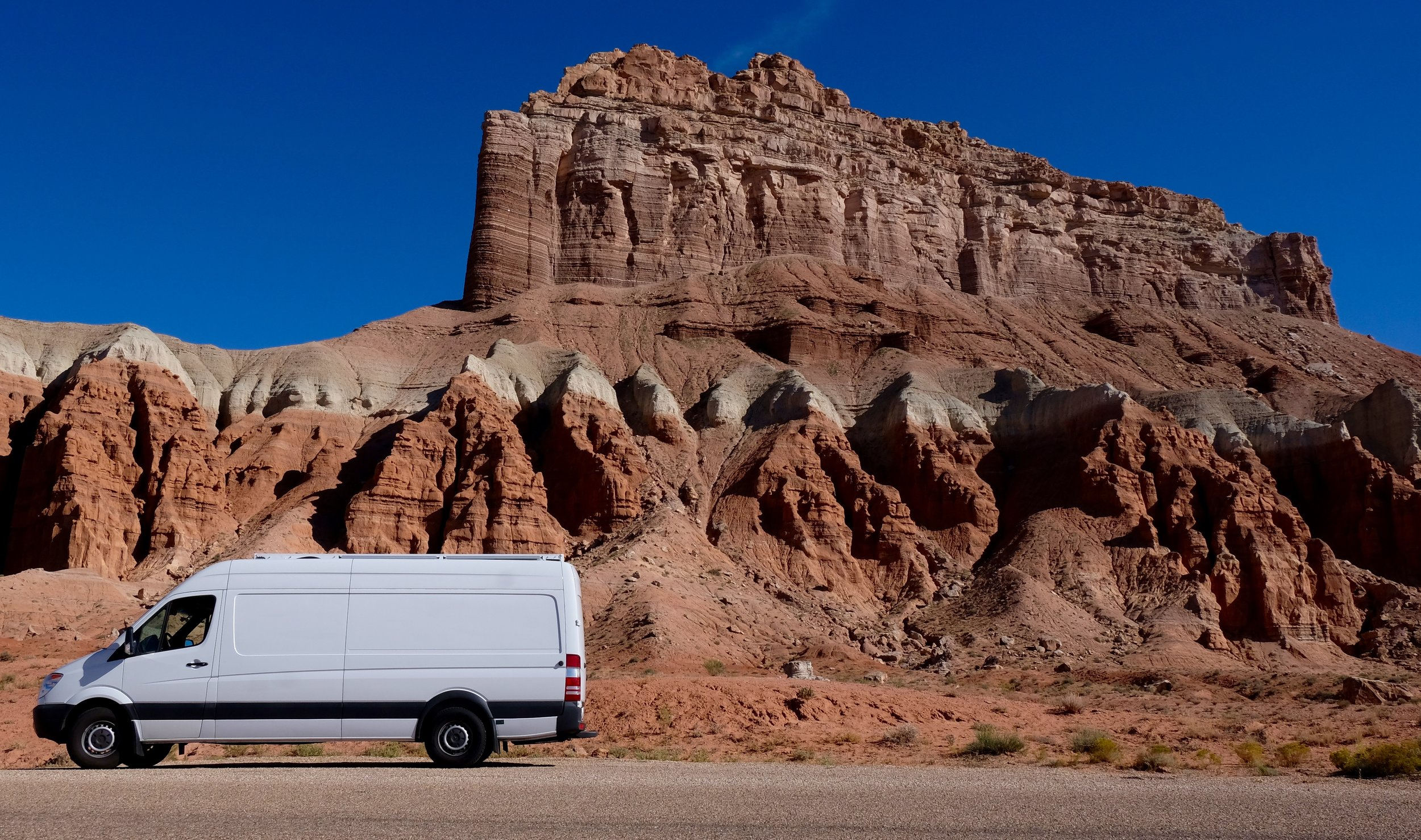 """Betty White - we never forget our first love. She's a 170"""" Mercedes Sprinter built simply for a life of travel and adventure."""