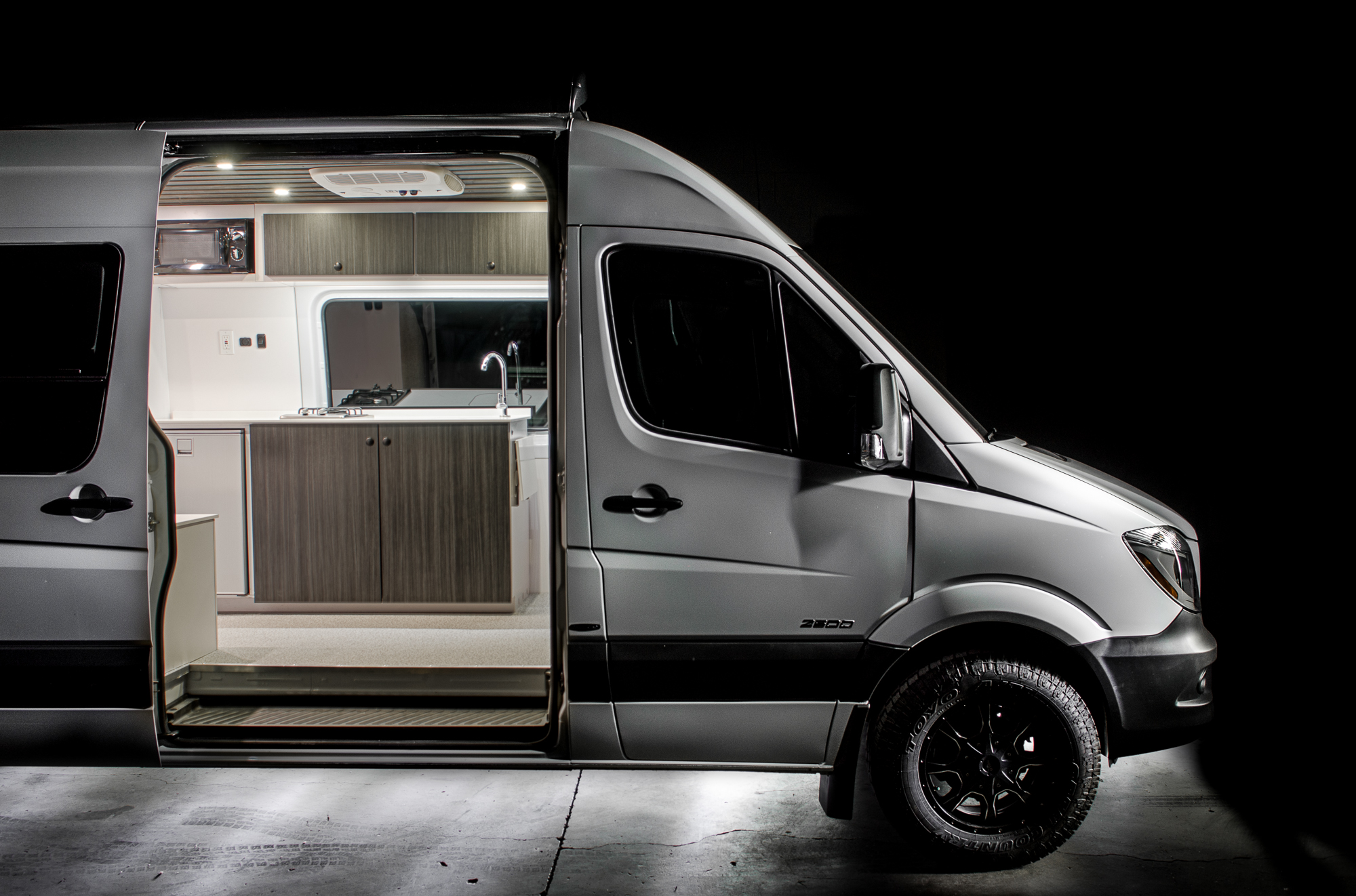"""Jeff approached us in search of his ultimate dream machine - a 170"""" Sprinter decked out to the nines."""