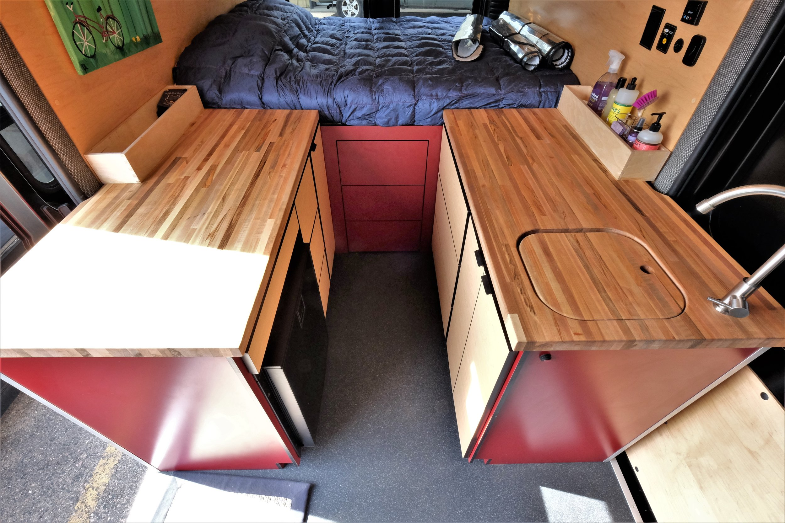Dodge Promaster Camper Van Conversion For Sale