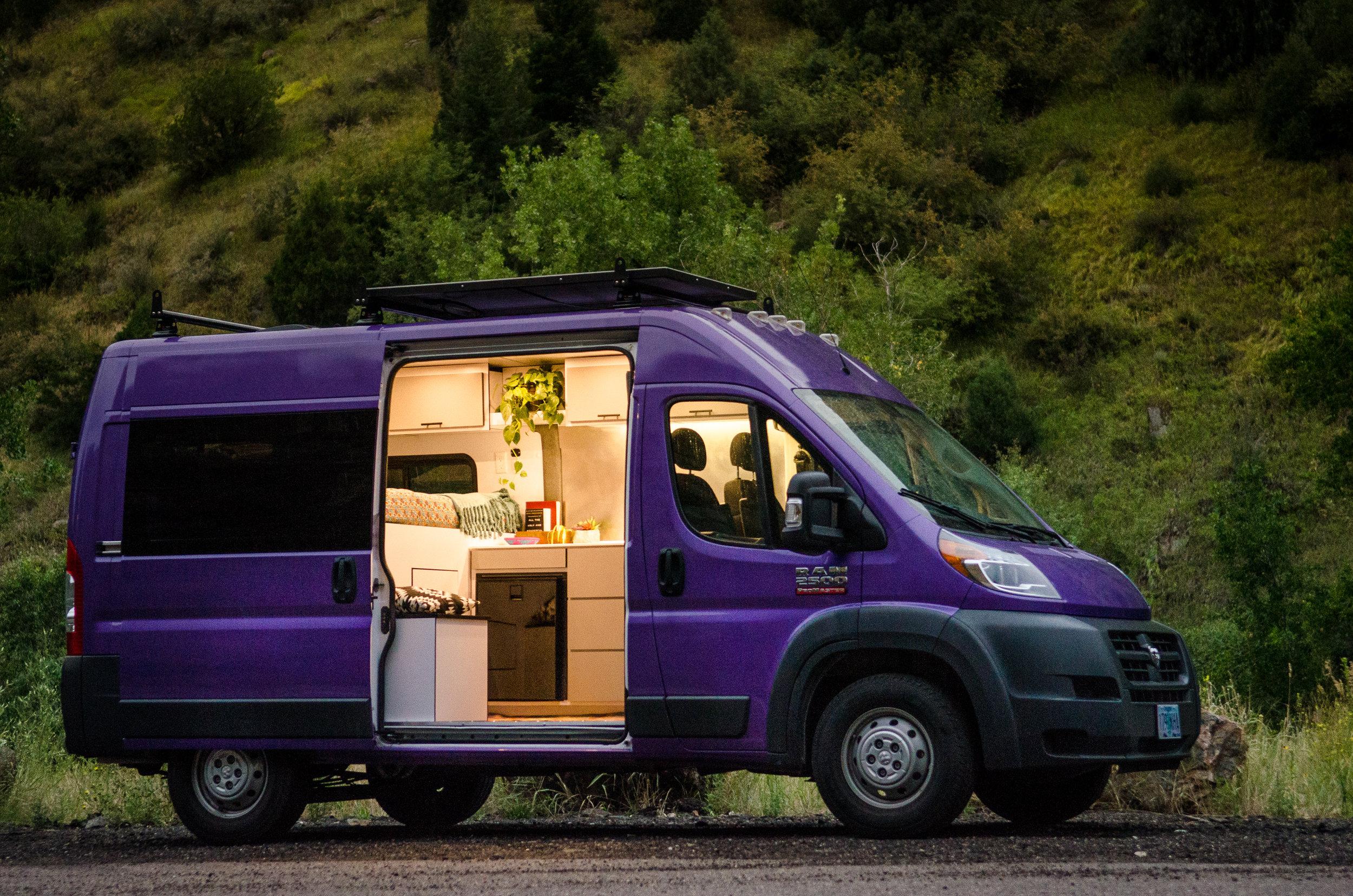 Our Vans — Custom Van Builder | Vanlife Customs