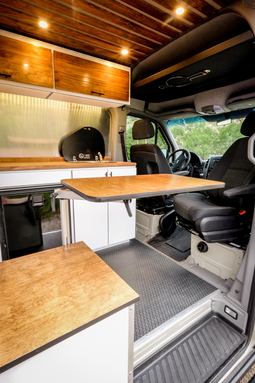 Vanlife Customs Mercedes Sprinter 4x4 Van Conversion