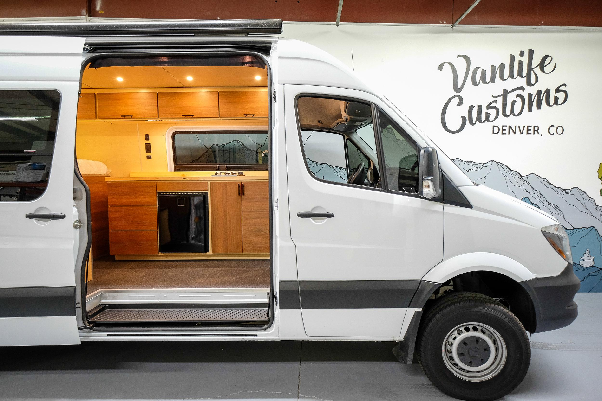 """Vanlife Customs 170"""" Sprinter 4x4 Camper Van Conversion"""