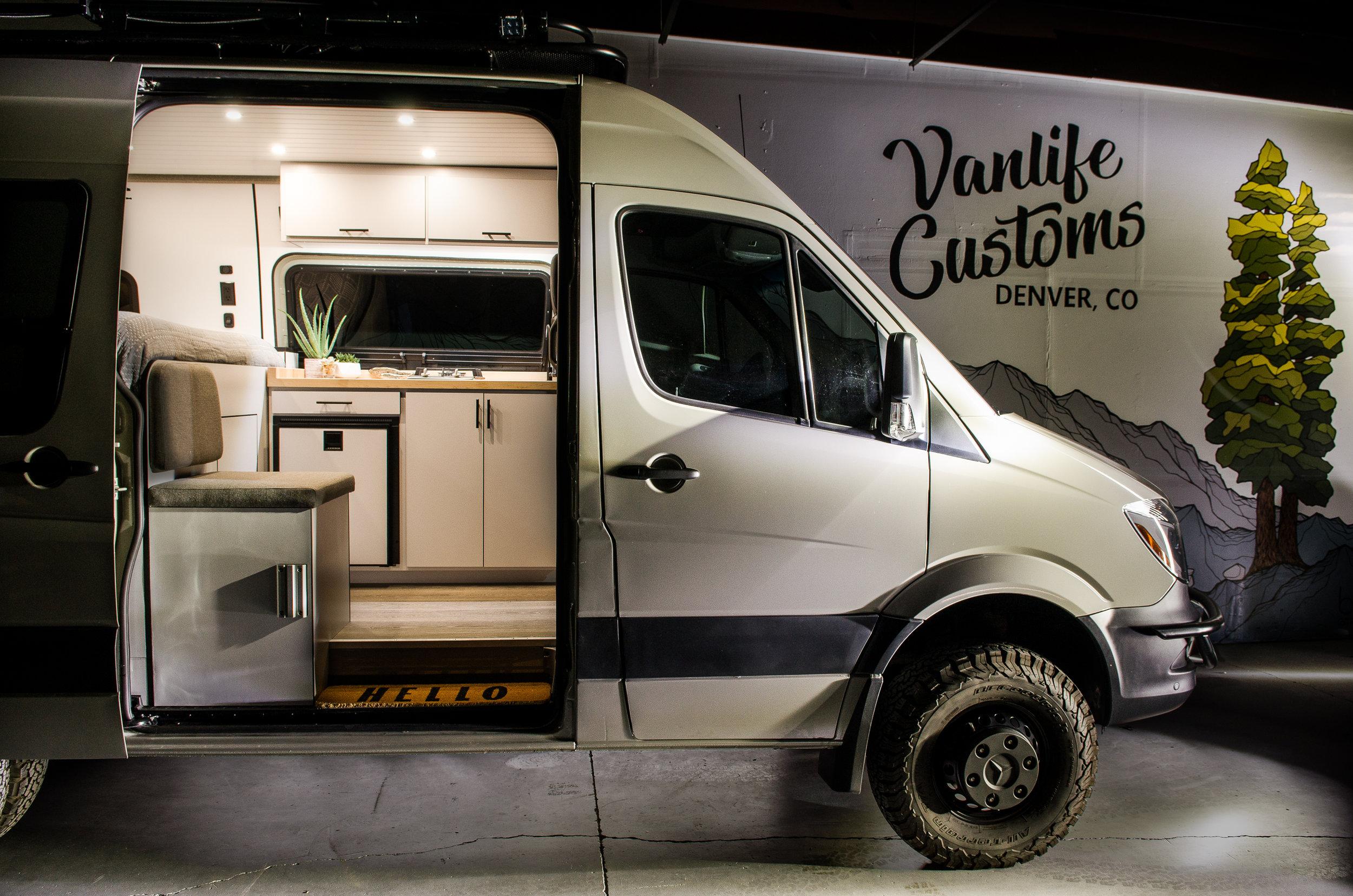 """Vanlife Customs 144"""" Mercedes Sprinter 4x4 Conversion"""