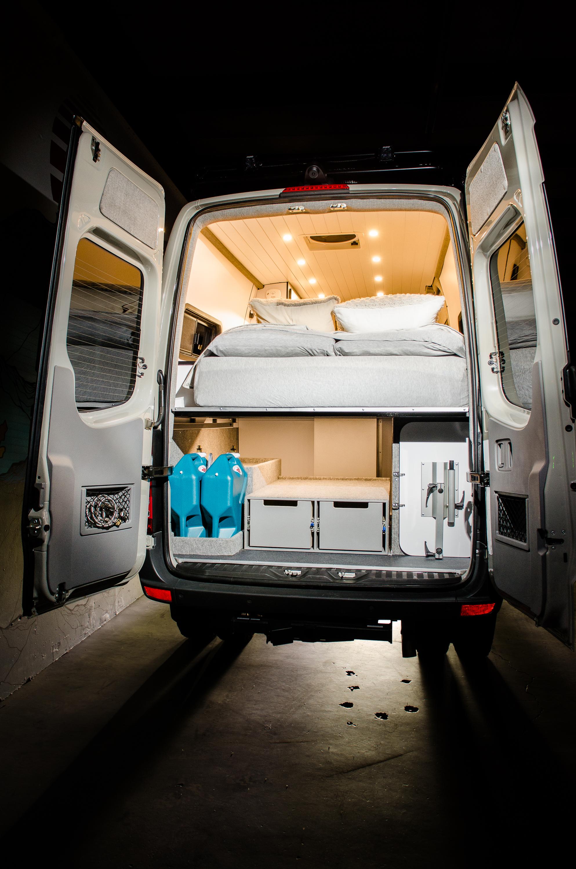 "Vanlife Customs Garage: 144"" Mercedes Sprinter 4x4 Camper Van Conversion"
