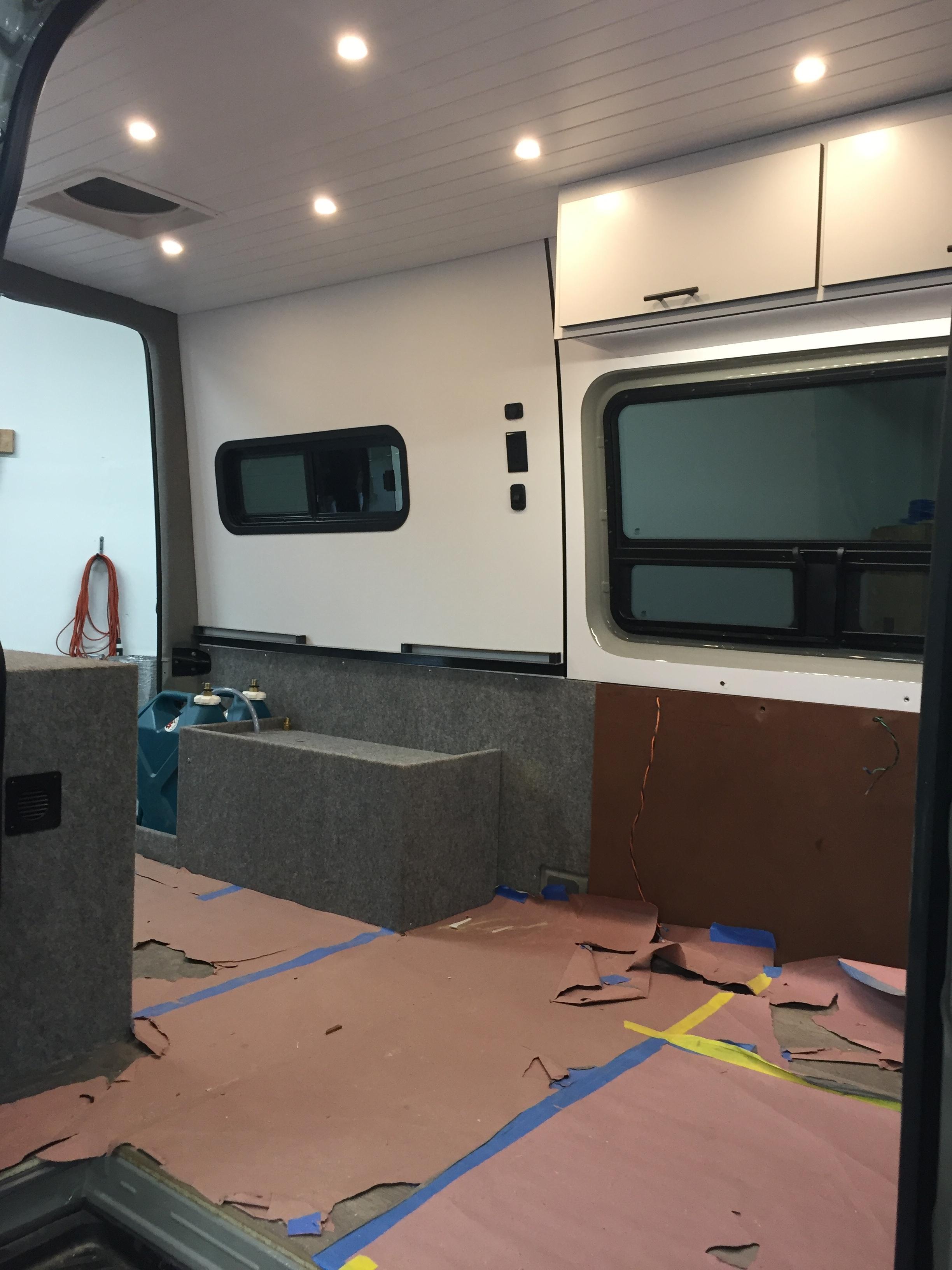 Vanlife Customs: Sprinter Camper Van Conversion Build Process