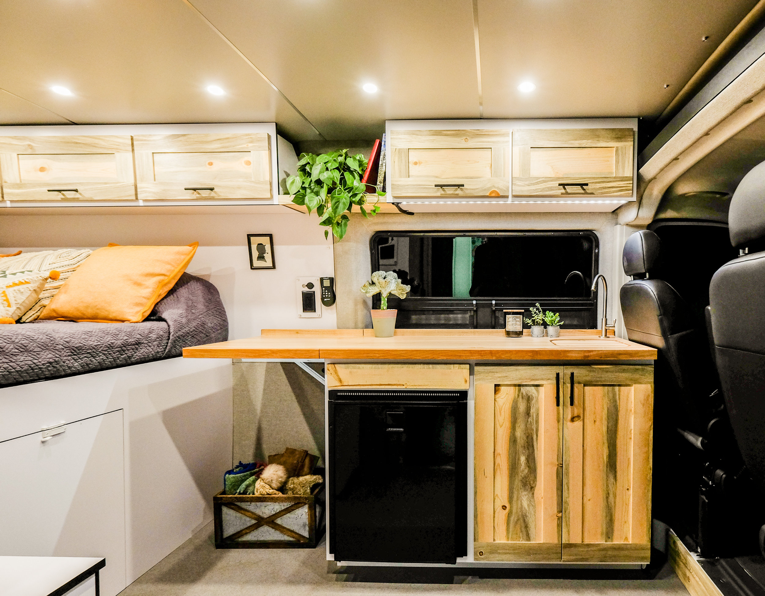"Vanlife Customs: Ponderosa 159"" Promaster Camper Van Conversion"