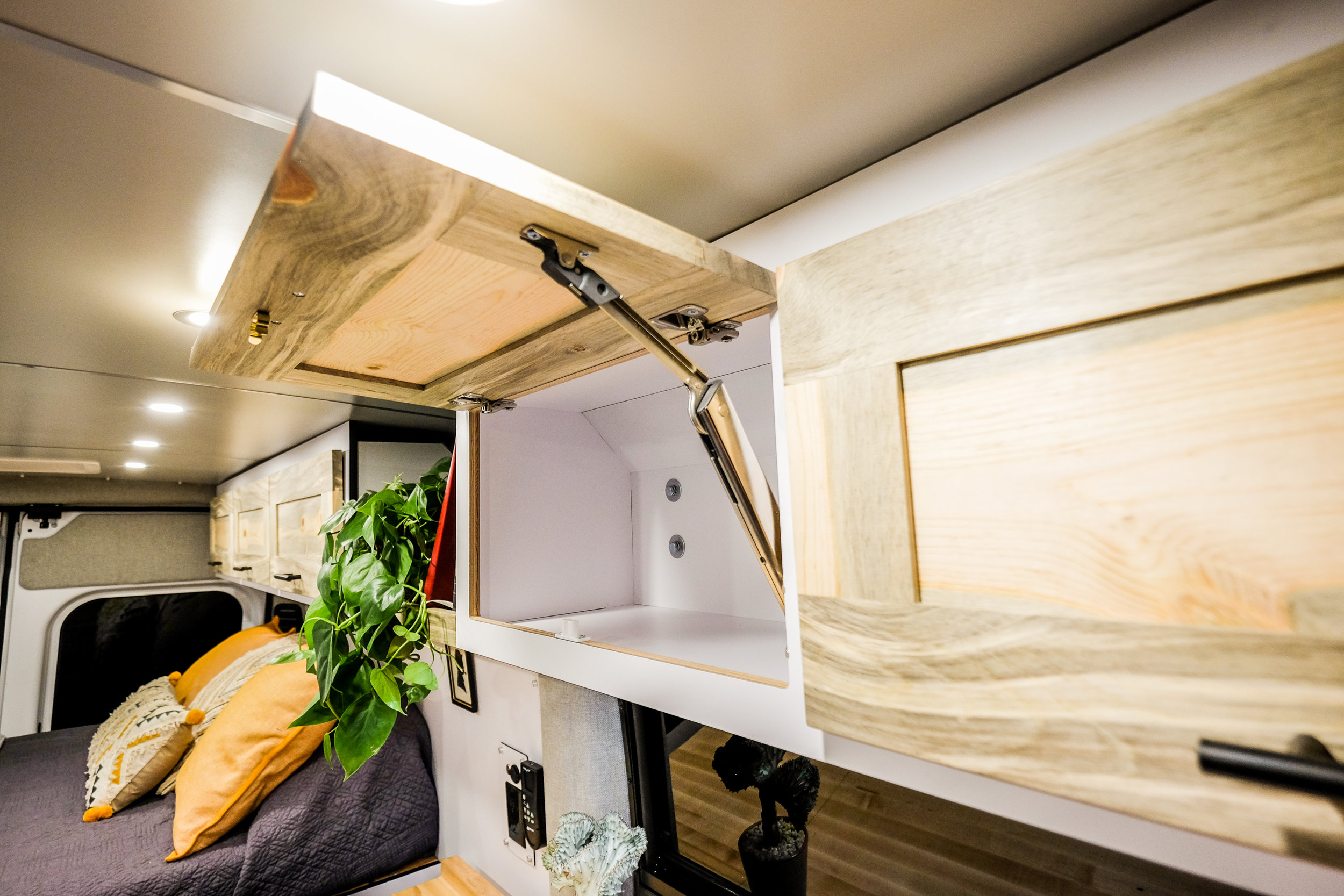 Vanlife Customs Promaster Conversion Cabinetry
