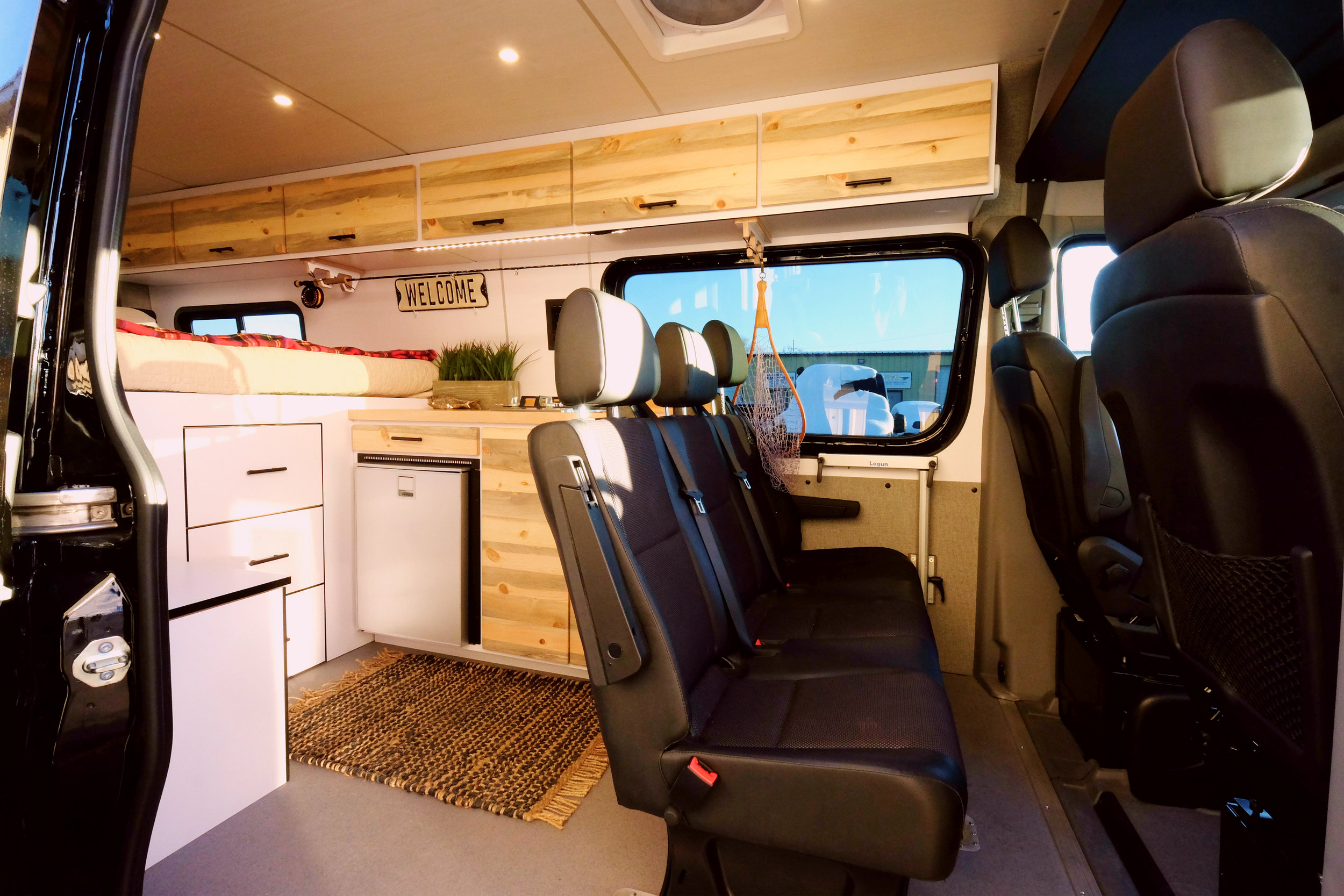 "Mad Murdock: 170"" Sprinter Crew Van Conversion"