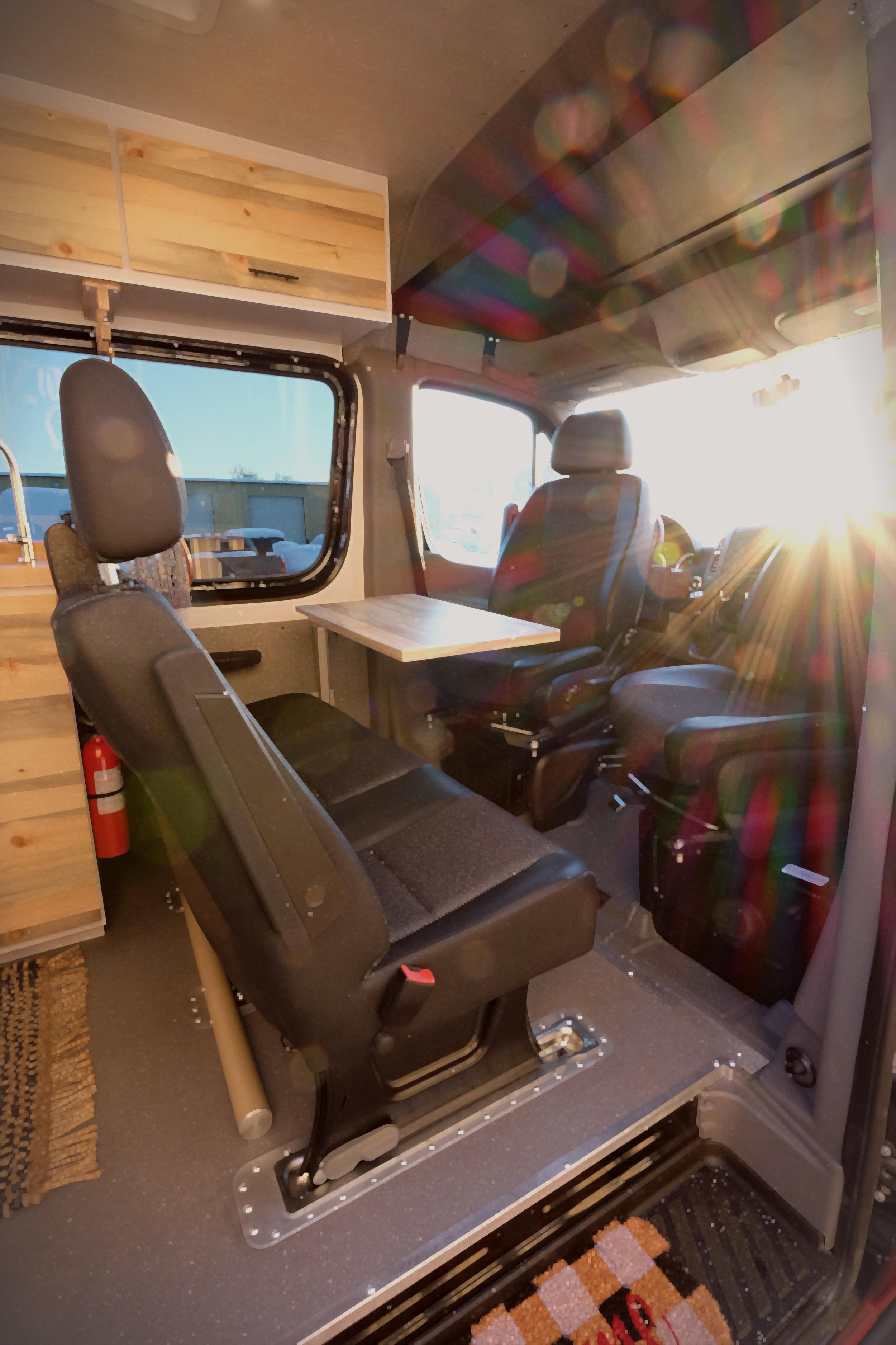 "Mad Murdock: 170"" Mercedes Sprinter Crew Van Custom Camper Van Conversion"