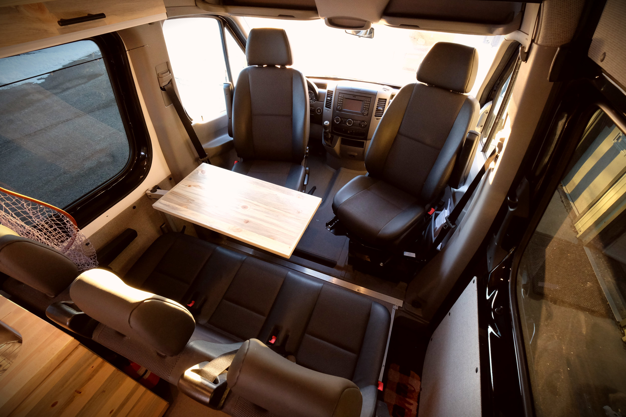 "Mad Murdock 170"" Mercedes Sprinter Crew Van Custom Camper Van Conversion"