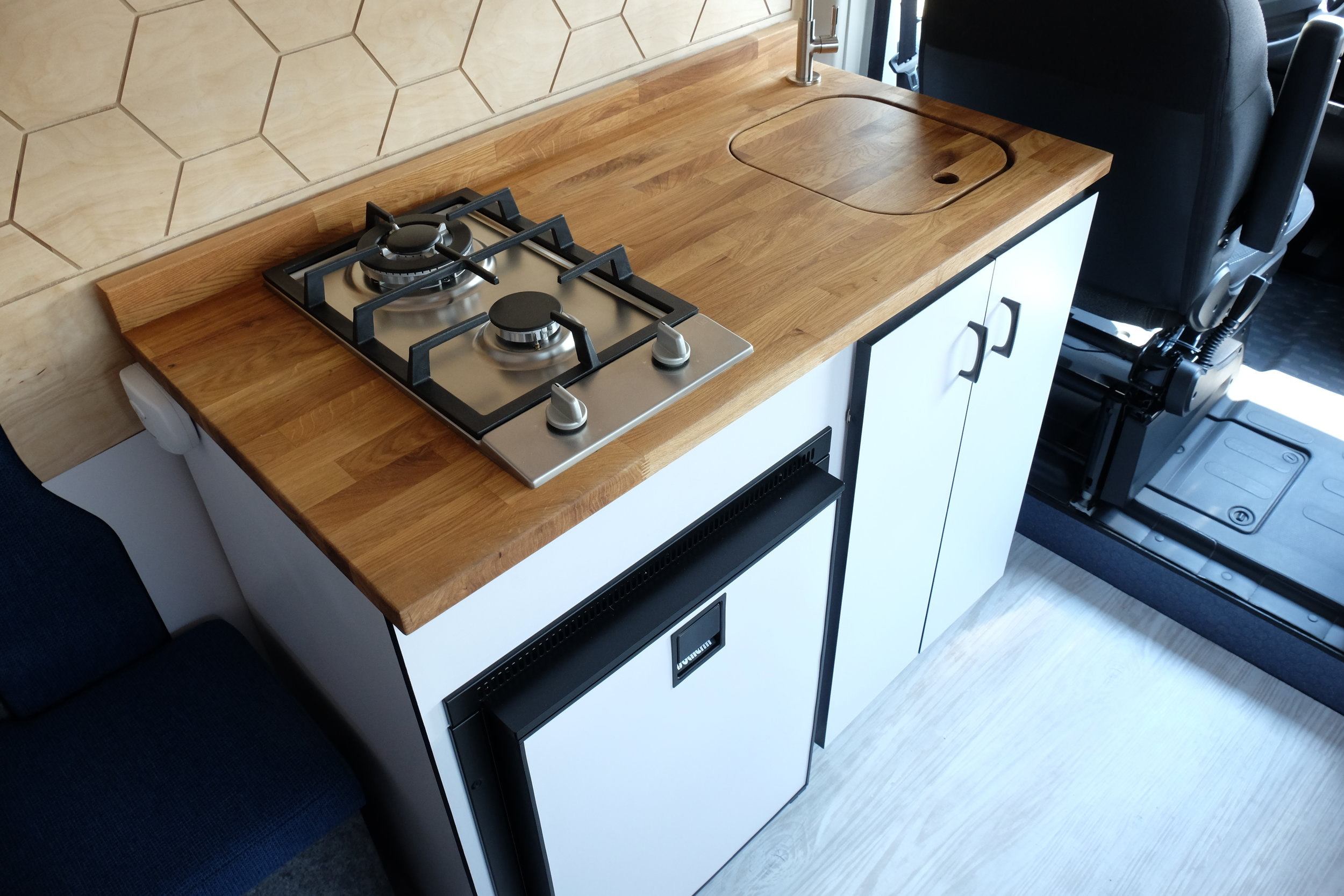 Vanlife Customs: Camper Van Kitchen