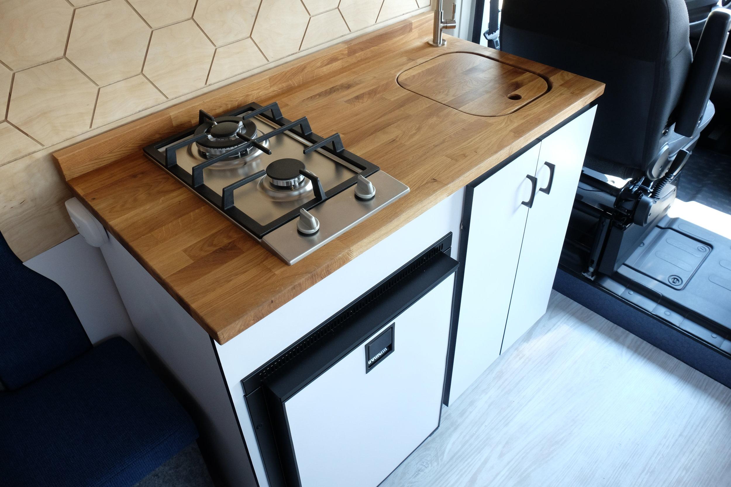 Vanlife Customs: Camper Van Kitchen
