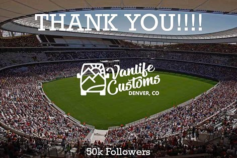 Three years, three backyards, three shops, and 51 vans later… here we are. ⠀ ⠀ To say it's been a wild ride, would be an understatement. But yesterday we reached 50,000 followers, and we couldn't think of a better time to express our gratitude. THANK. YOU. ⠀ ⠀ Thank you to all of our colleagues, friends, families, partners, clients, vendors, and FOLLOWERS!!!! We couldn't have made it here without you, and we are so grateful that you have allowed us to be a part of your journey. ⠀ ⠀ We are constantly pushing ourselves to evolve and improve, and we hope it shows. If you're a builder, van lifer, future van lifer, or just a general van life enthusiast, we hope our content has helped you on your journey. ⠀ ⠀ 50,000 followers is beyond humbling. ⠀ From our family to yours, thank you! ⠀ ⠀ - The Vanlife Customs Team⠀ ⠀ ⠀ ⠀ ⠀ ⠀ ⠀ ⠀ ⠀ ⠀ ⠀ ⠀ ⠀ ⠀ ⠀ #vanlifecustoms #vanlife #campervanster #vanlifedistrict #vanlifeadventure #vanlifecamper #parkedinparadise #vanlifesociety #projectvanlife #vanlifeculture #vanlifers #vanbuild #vanlifeideas #vanlifemagazine #vandwellinglife #homeonwheels #rollinghome #vanliving #campervanlife #vanlifemovement #vanbuild #vanlifeexplorers #camperlifestyle #vanlifediaries #vancrush