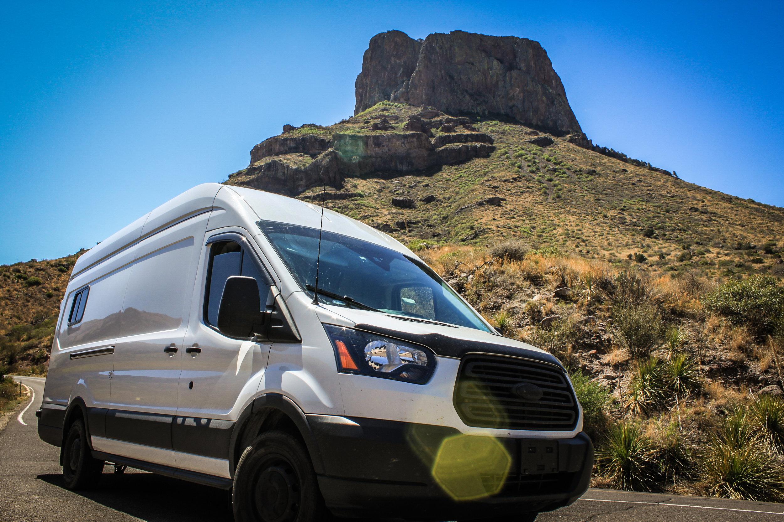 Ford transit camper van conversion for sale