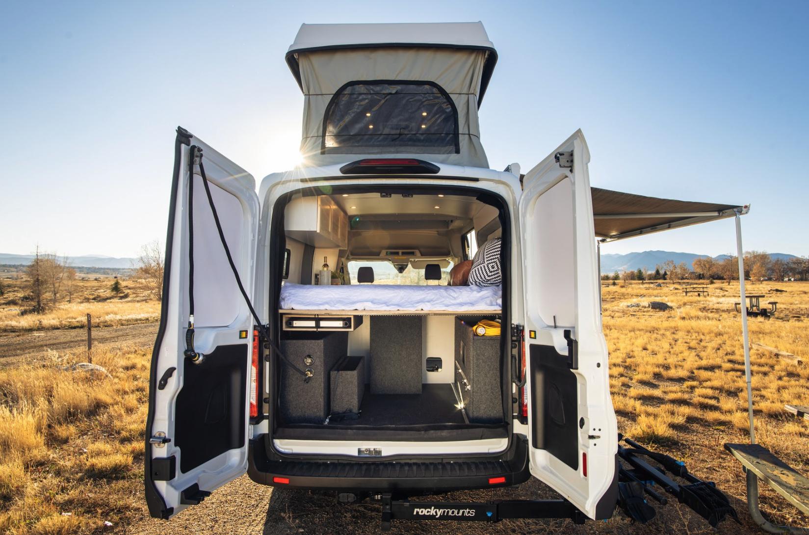 Vanlife Customs Ford Transit AWD camper van