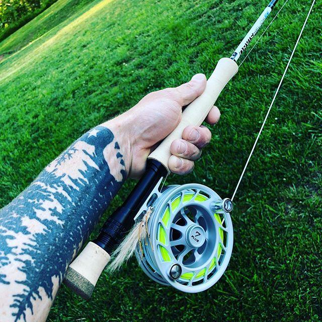 Salty thoughts #hatchreels #orvisflyfishing #floodtide #redfishonfly #flatsfishing