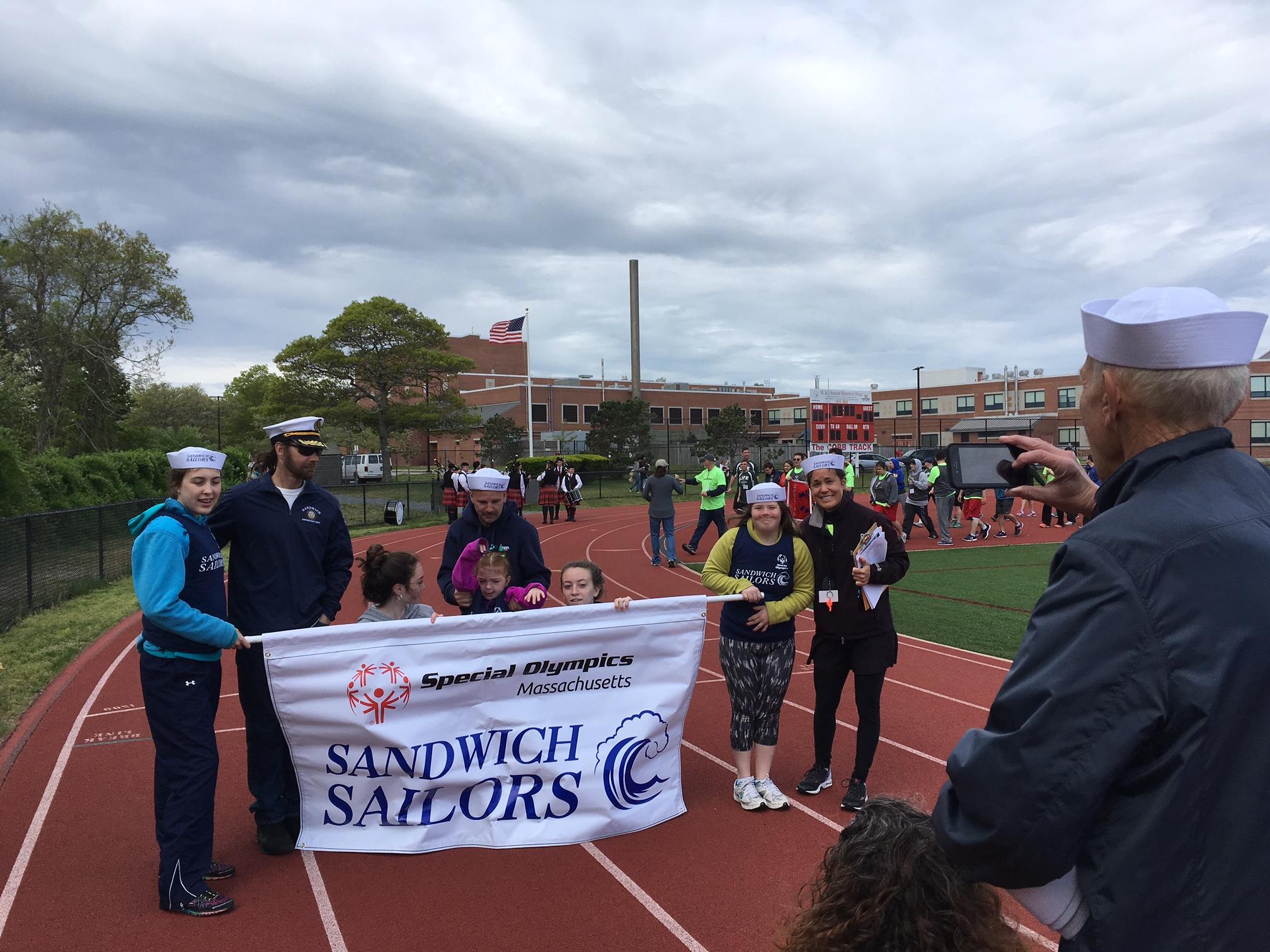 Sandwich Sailors Team photo