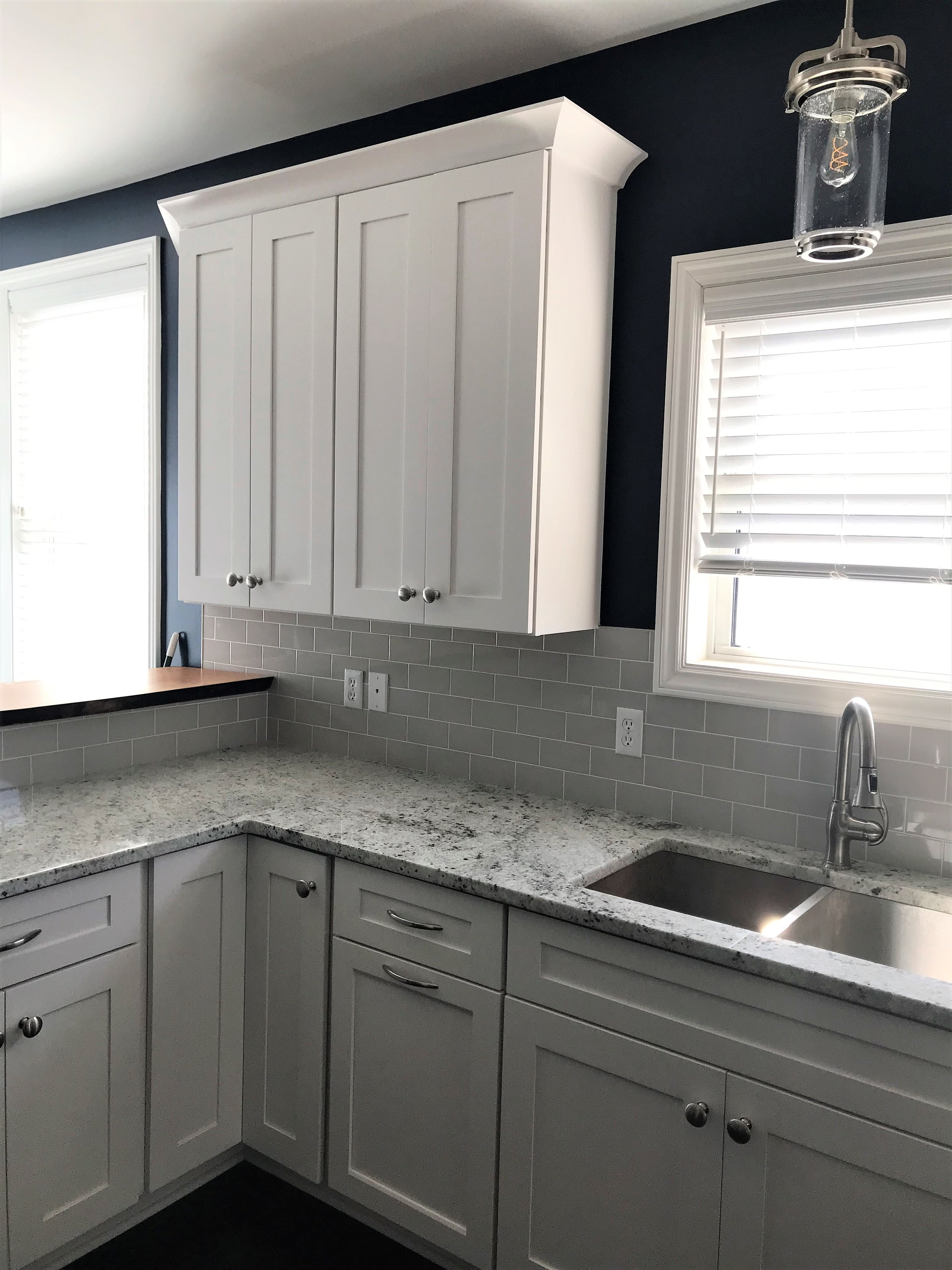 L shaped kitchen Renovation