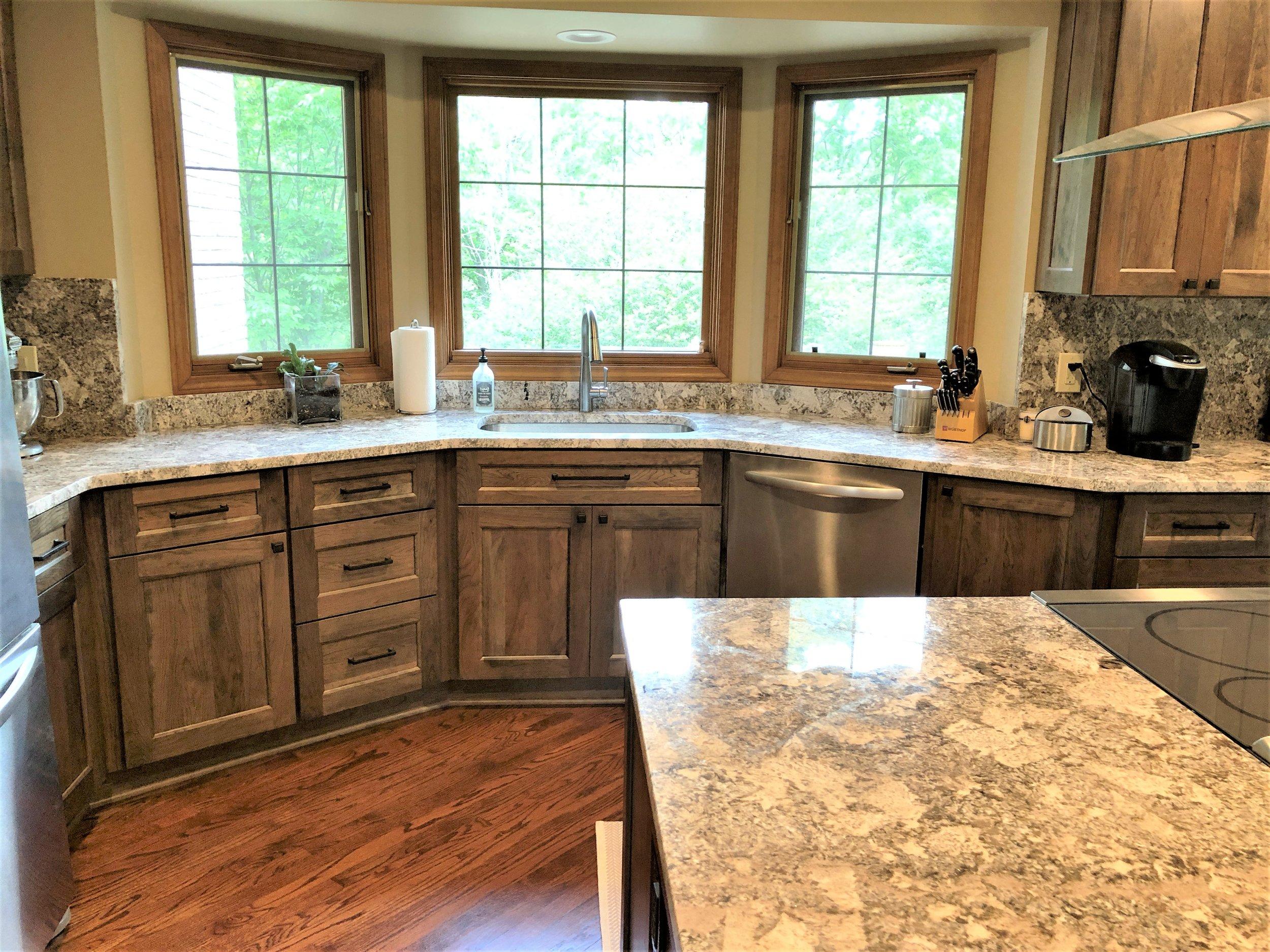 Updated kitchen renovation