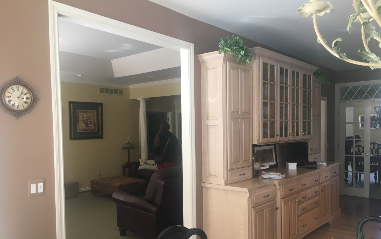 Before the home renovation in northville