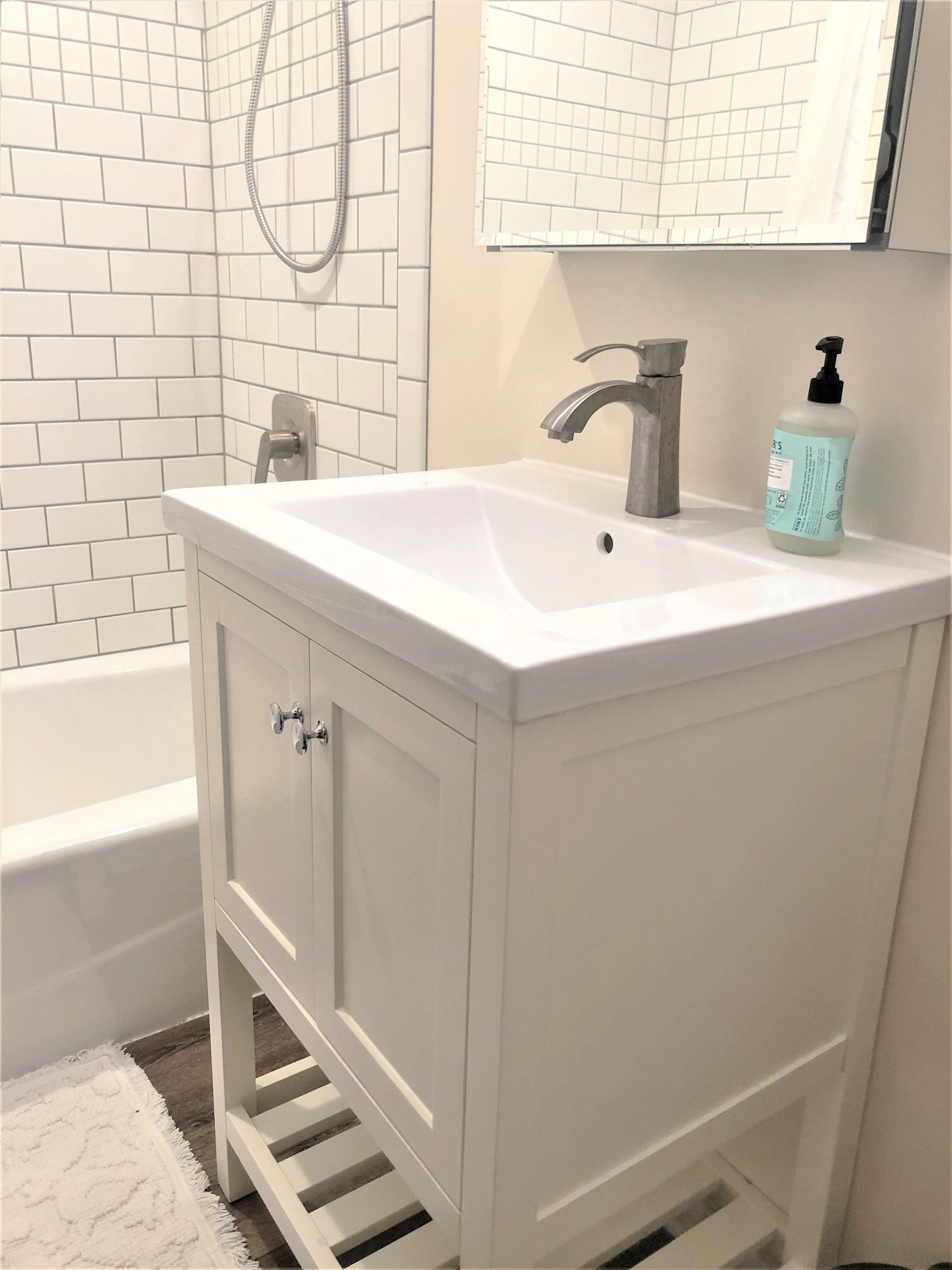 Renovated Ann Arbor bathroom