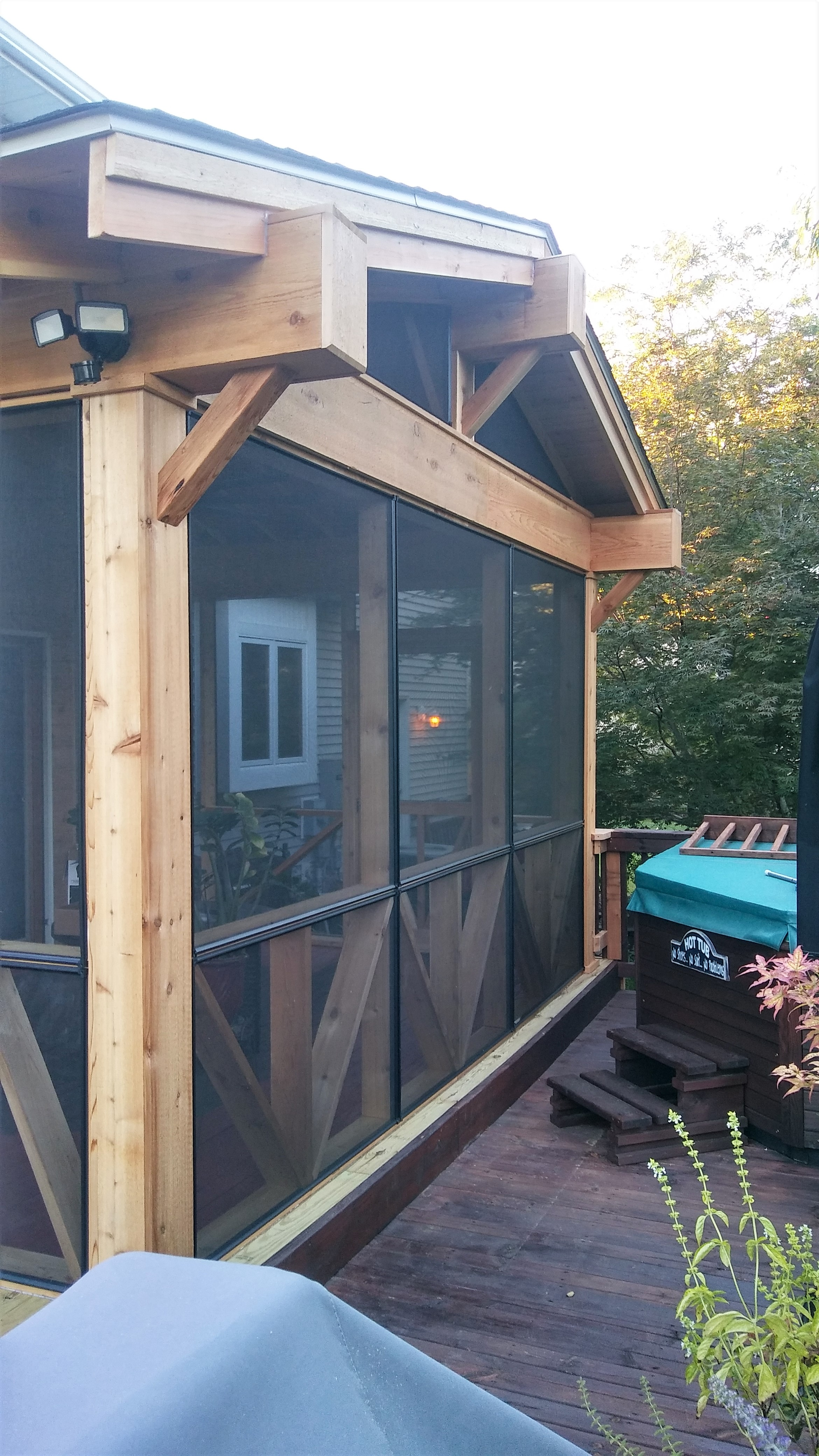 Screened-in Porch Project