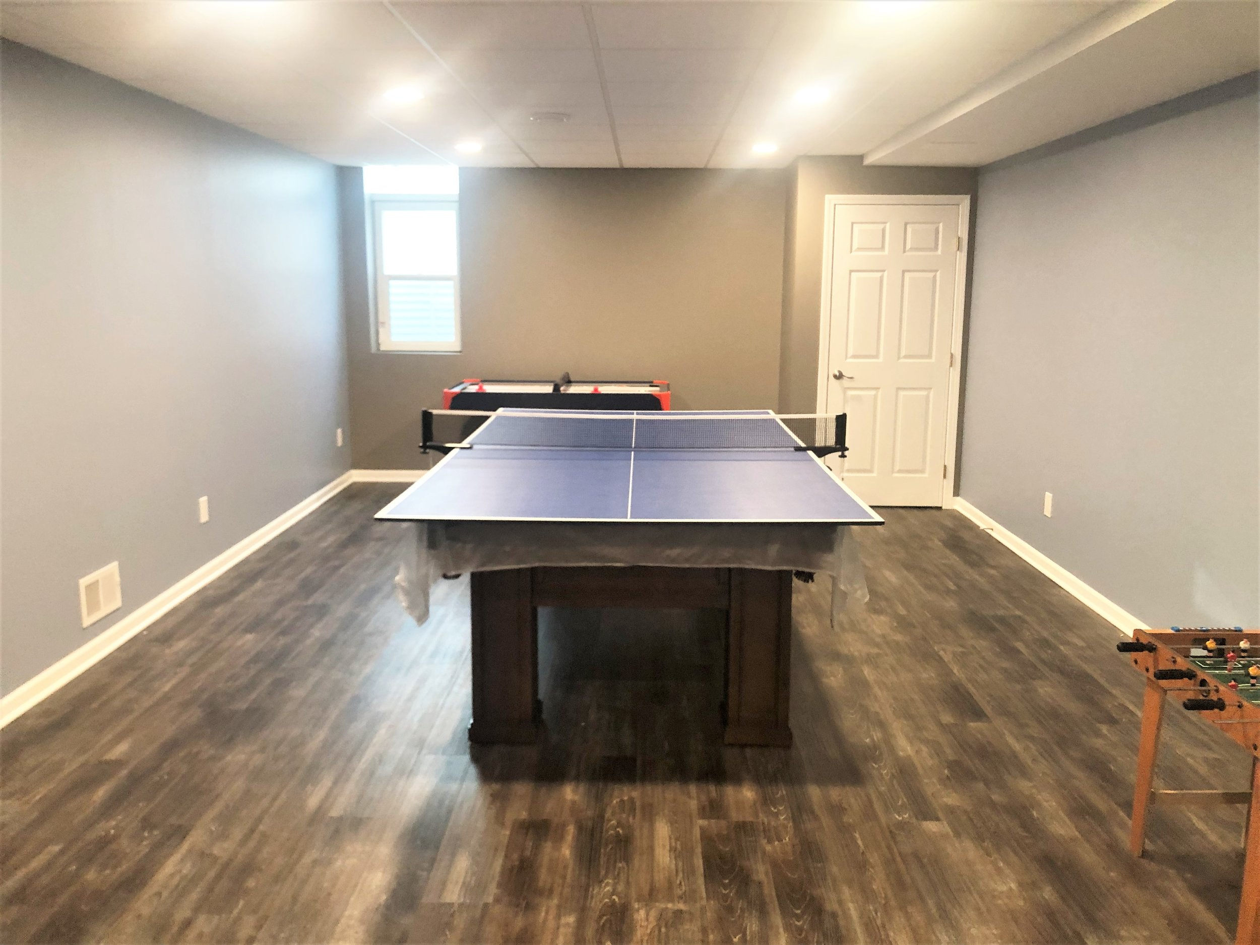 Basement Renovation in Ann Arbor
