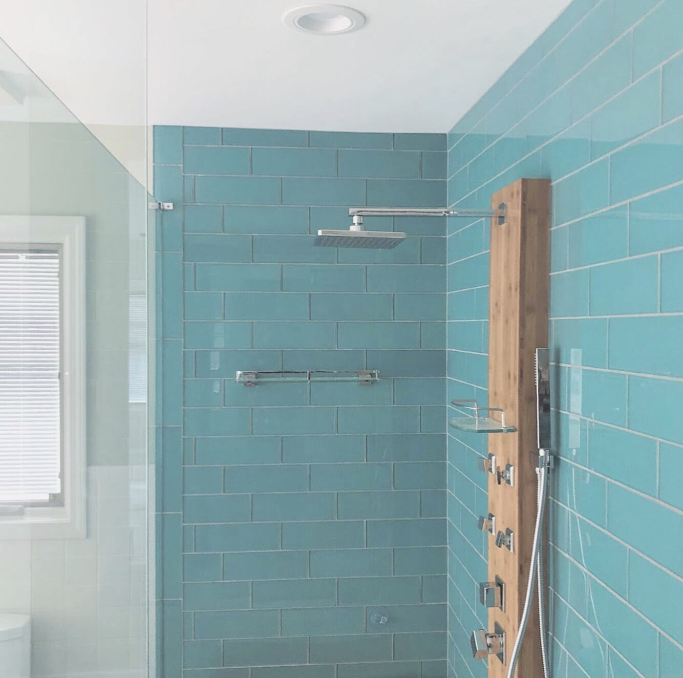 "Northville ""Fountain Blue"" shower redesign"