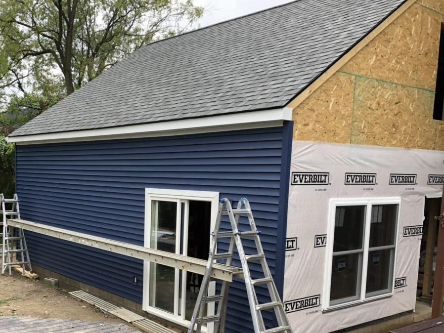 Ann Arbor luxury Garage Build