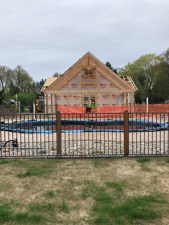 Luxury Garage Build in Novi