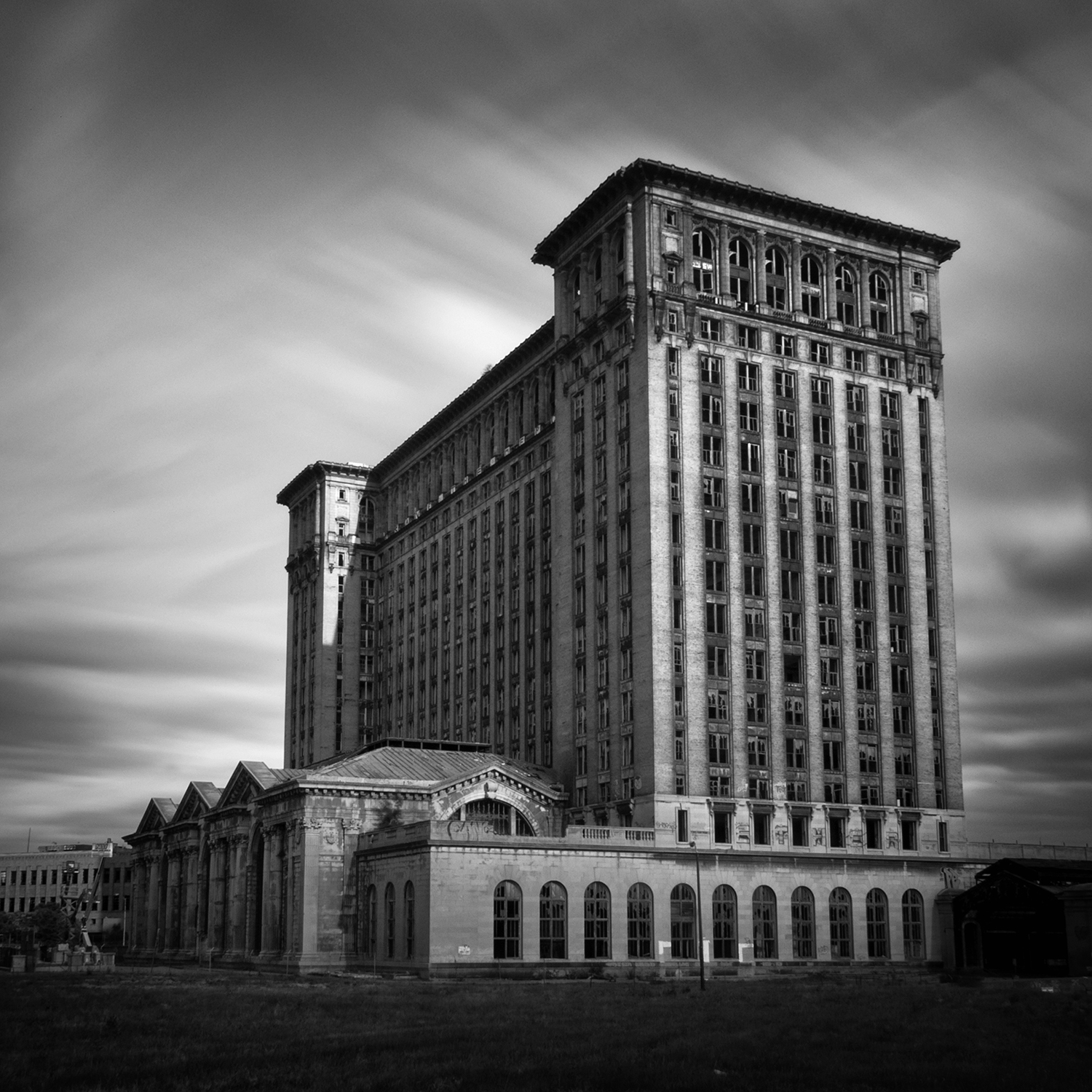 Michigan Central Station, 2011