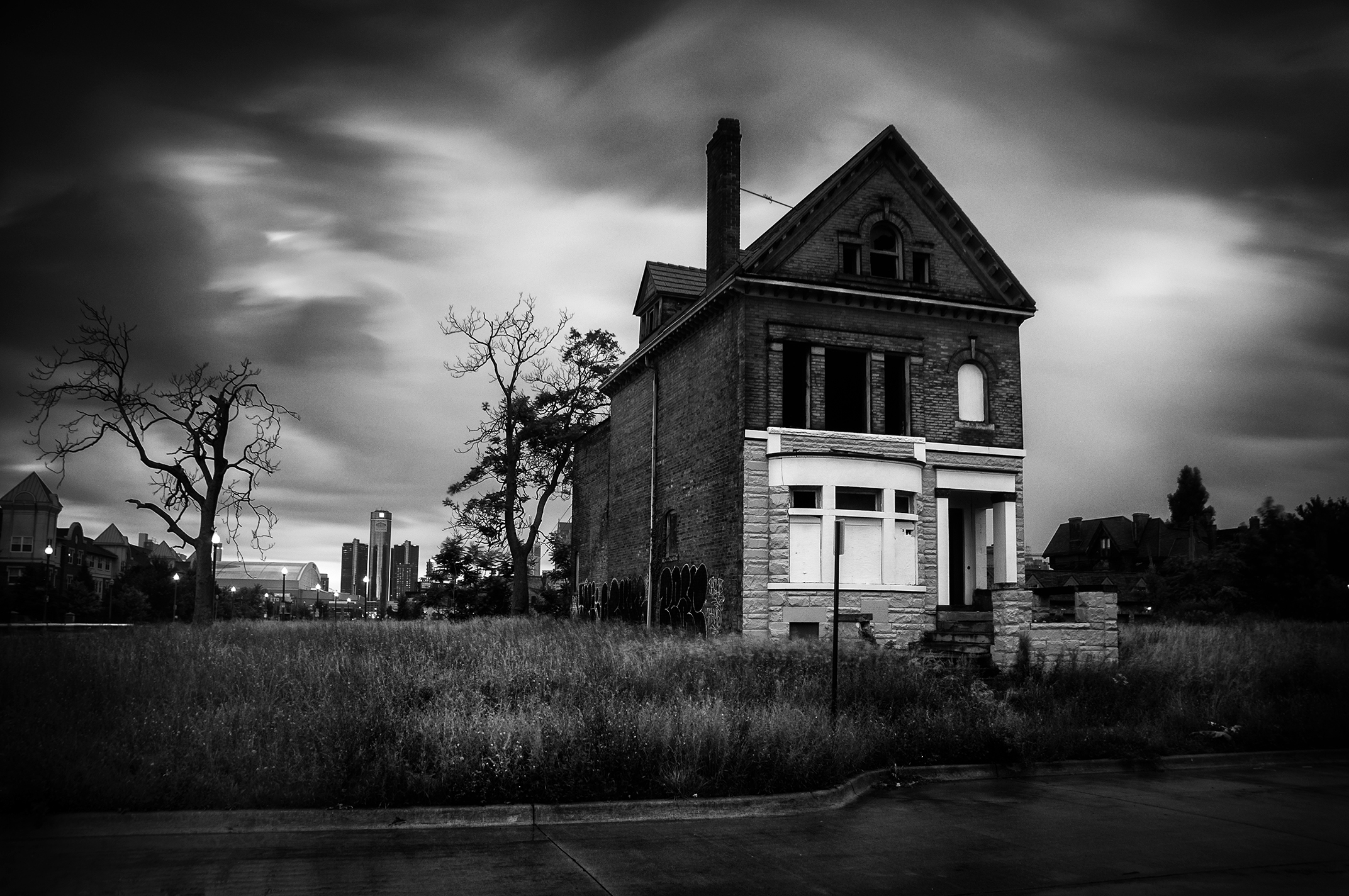 Brush Park, Detroit, 2013