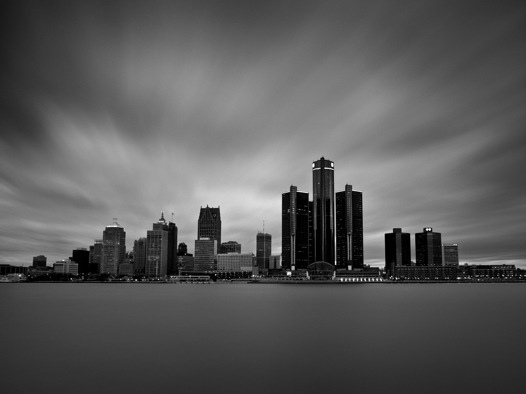 Detroit at Twilight, 2012