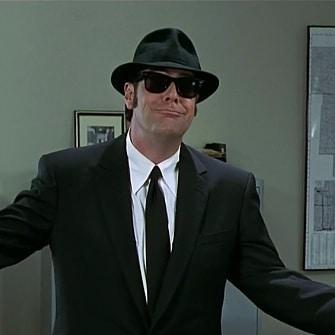 So the answer to yesterday's mystery wax figure was Dan Aykroyd... yup. #trivia #waxfigure