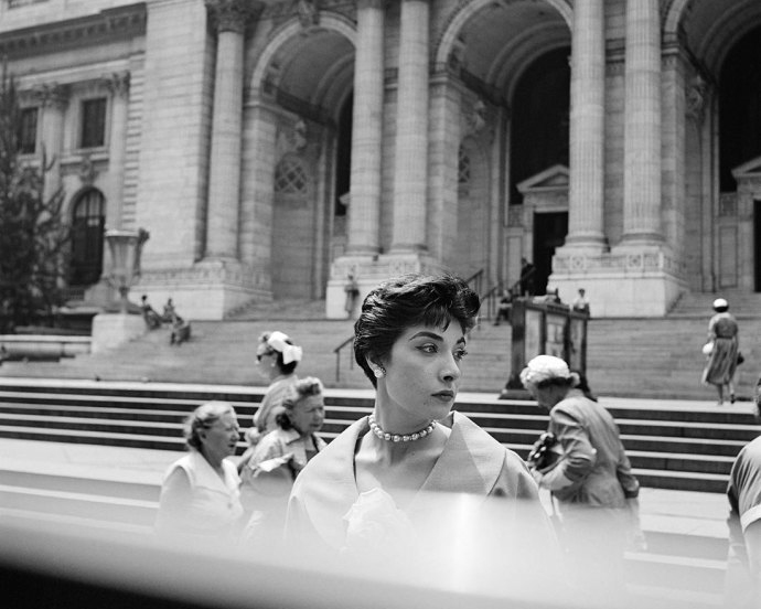 Finding Vivian Maier   Vivian Maier's photographs of women on the street. Photograph by  Vivian Maier .