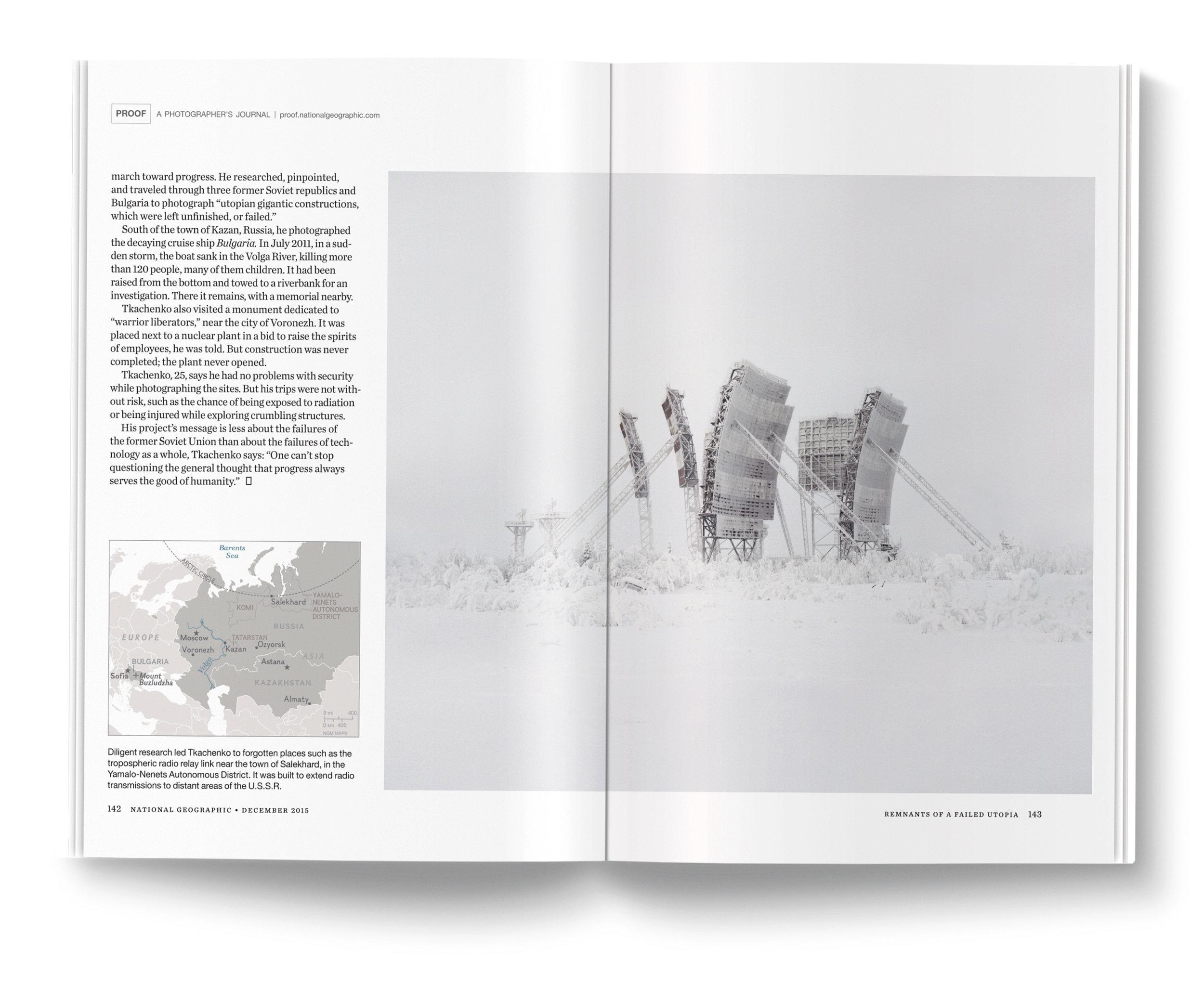 Remnants of a Failed Utopia a project by  Danila Tkachenko .