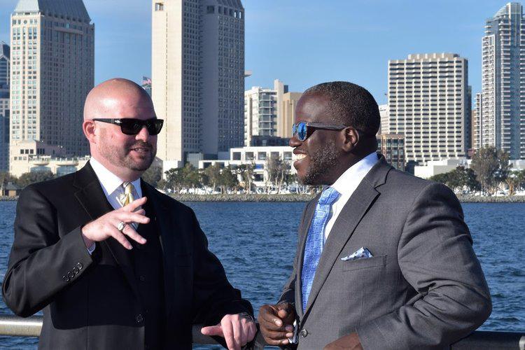 San Diego Criminal Defense Attorneys Confab on San Diego City Skyline 2.jpg