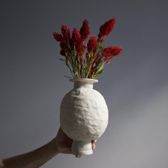 Raw Vase 01 ; $125.