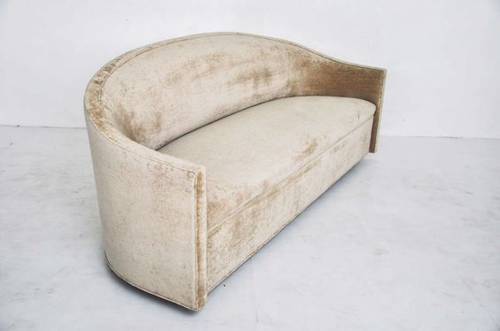 Curved sofa, c. 1969
