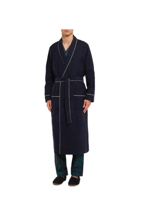 Cotton Twill Robe; $220