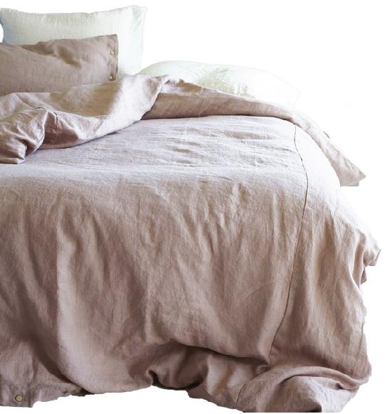Linen Duvet Cover; $285